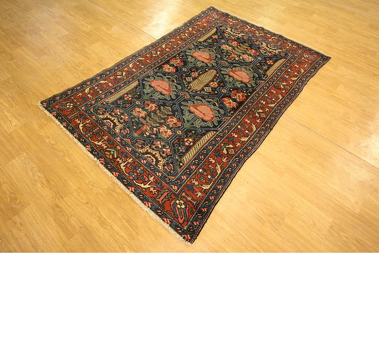4' 2 x 6' 7 Bakhtiar Persian Rug