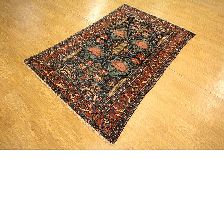 4' 2 x 6' 7 Bakhtiari Persian Rug