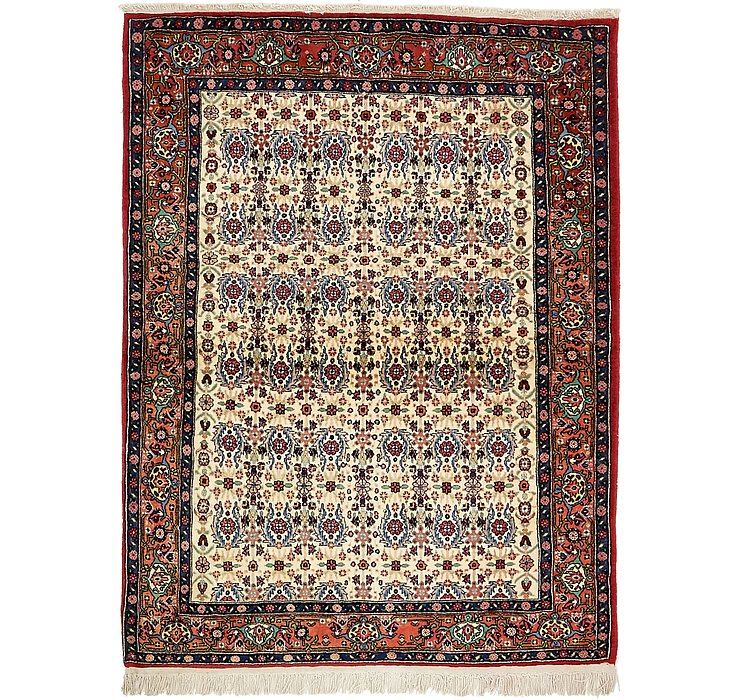122cm x 163cm Bidjar Persian Rug
