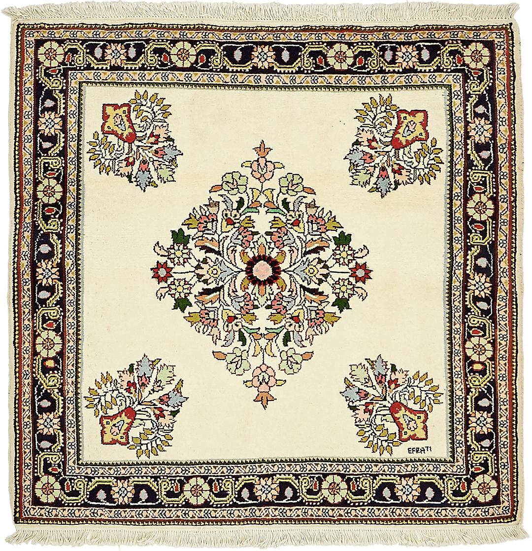Main Handknotted 3 9 X 10 Shahrbaft Persian Square Rug Photo