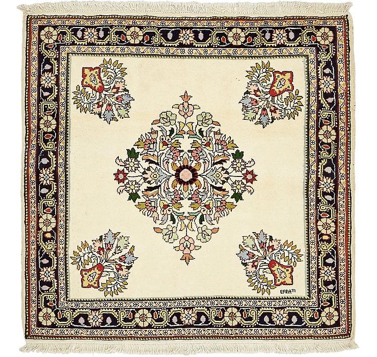 HandKnotted 3' 9 x 3' 10 Shahrbaft Persian Squar...