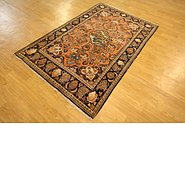 Link to 4' 3 x 6' 6 Kashan Persian Rug