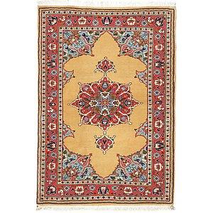 Unique Loom 3' 6 x 5' 1 Bidjar Persian Rug