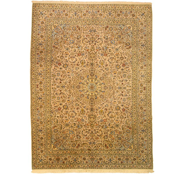 8' 4 x 11' 4 Kashan Persian Rug