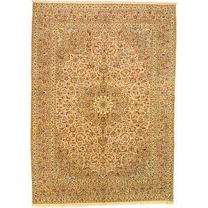8' 2 x 11' 5 Kashan Persian Rug