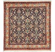 Link to 4' 9 x 4' 10 Bidjar Persian Square Rug