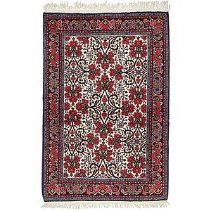 HandKnotted 3' 6 x 5' 3 Bidjar Persian Rug