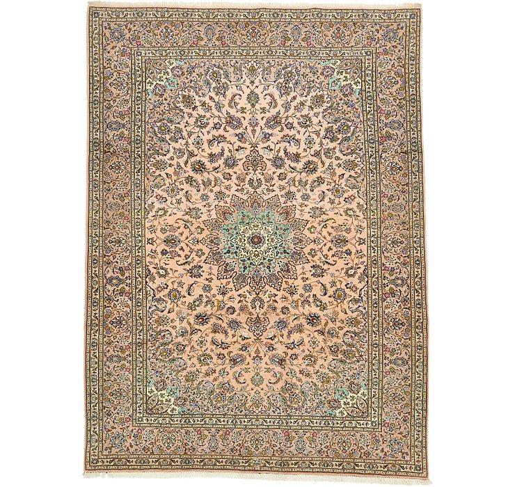 8' 4 x 11' 6 Kashan Persian Rug