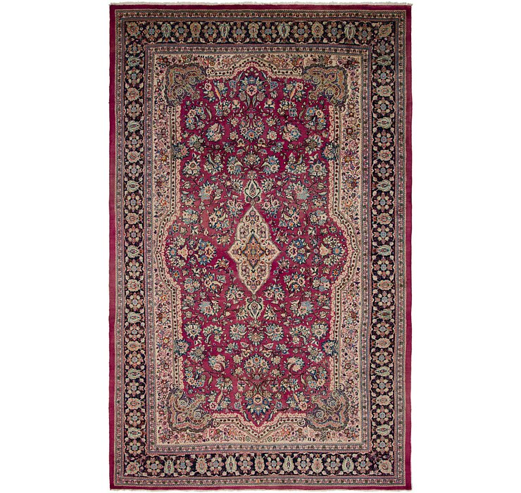 10' 5 x 17' 2 Sarough Persian Rug