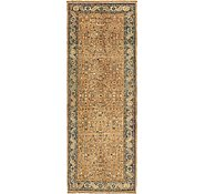 Link to 110cm x 315cm Hossainabad Persian Runner Rug