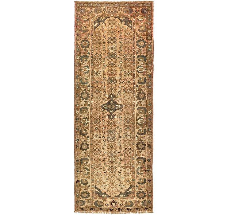 3' 8 x 9' 10 Zanjan Persian Runner Rug