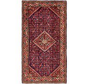 Link to 5' 3 x 10' Hossainabad Persian Rug