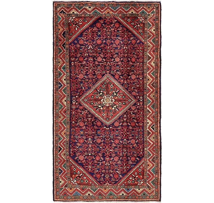 5' 3 x 10' Hossainabad Persian Rug