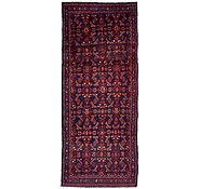 Link to 125cm x 310cm Hossainabad Persian Runner Rug
