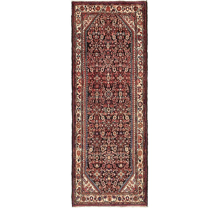 117cm x 310cm Hossainabad Persian Run...