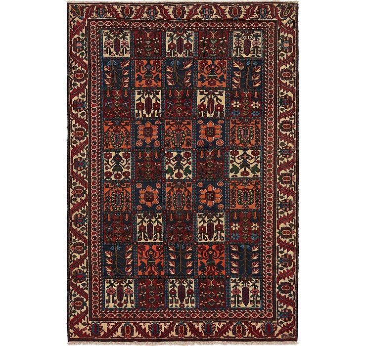 6' 4 x 9' 2 Bakhtiari Persian Rug