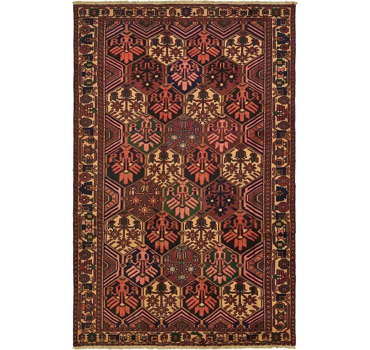 190cm x 295cm Bakhtiar Persian Rug