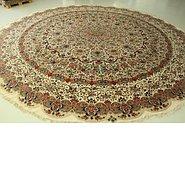 Link to 19' 8 x 19' 8 Tabriz Persian Round Rug