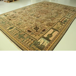 11' 3 x 16' 1 Tabriz Persian Rug