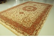 Link to 11' 3 x 16' 5 Tabriz Persian Rug