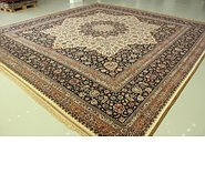Link to 16' 1 x 16' 10 Mashad Persian Square Rug