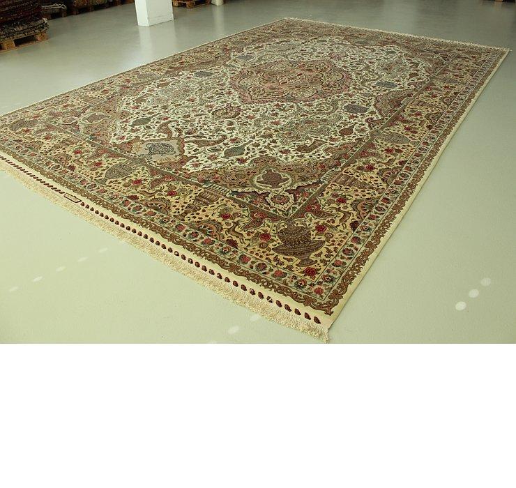 11' 4 x 16' 8 Tabriz Persian Rug