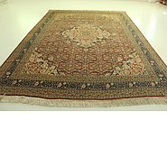 Link to 9' 4 x 12' 10 Tabriz Persian Rug