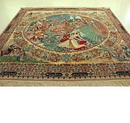 Link to 8' 6 x 9' 10 Tabriz Persian Rug