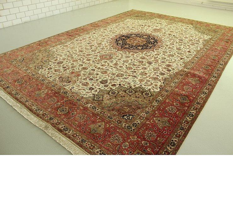 11' 4 x 16' 1 Tabriz Persian Rug