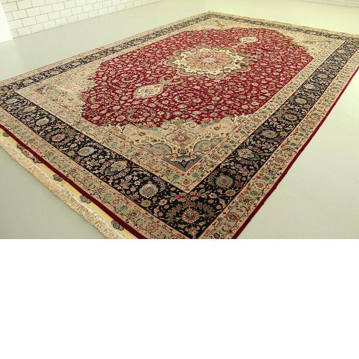 11' 2 x 16' 2 Tabriz Persian Rug