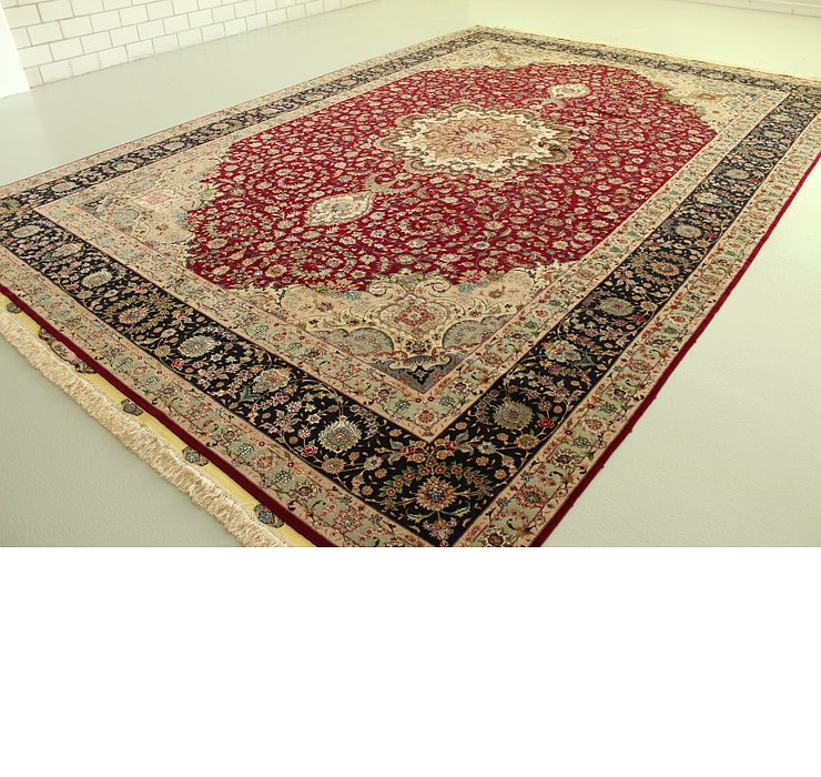 340cm x 493cm Tabriz Persian Rug