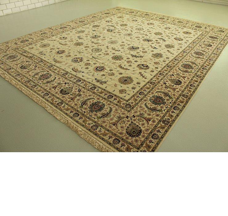 11' 5 x 13' 6 Tabriz Persian Rug