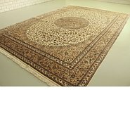 Link to 11' 6 x 16' 2 Kashan Persian Rug