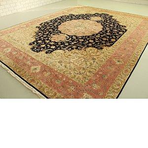 13' x 16' 2 Tabriz Persian Rug