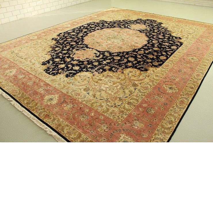 395cm x 493cm Tabriz Persian Rug