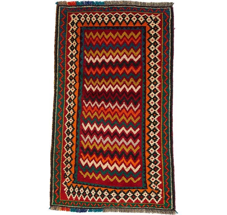 3' 9 x 6' 2 Ghashghaei Persian Rug