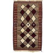 Link to 3' 7 x 6' Ghashghaei Persian Rug