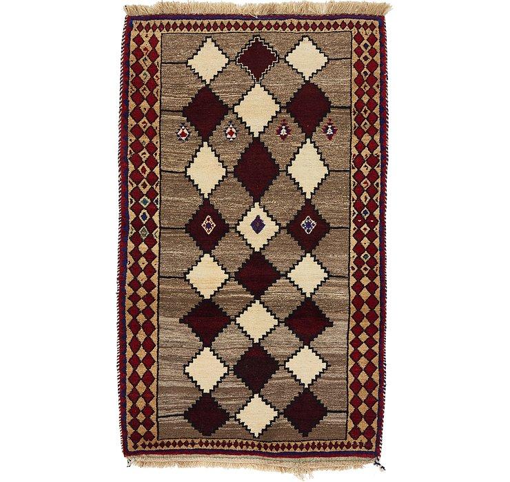 110cm x 183cm Ghashghaei Persian Rug