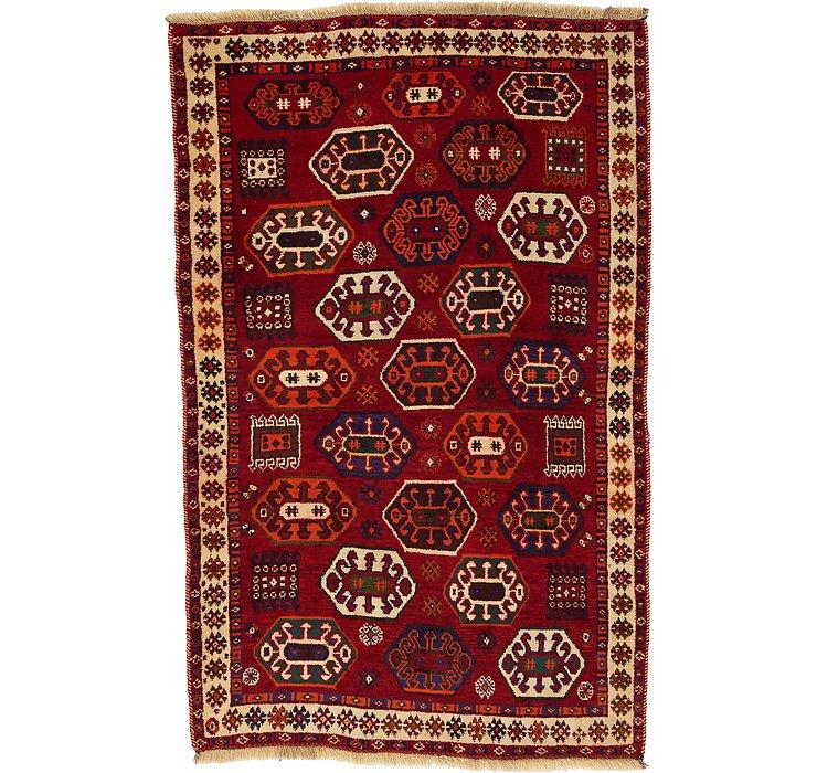 3' 11 x 6' Ghashghaei Persian Rug