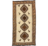 Link to 3' 5 x 6' 5 Ghashghaei Persian Runner Rug