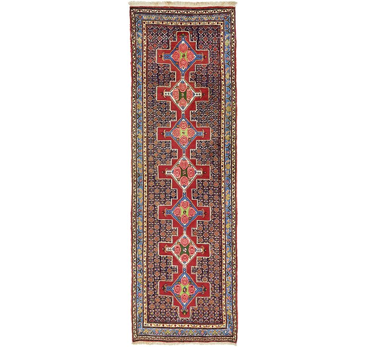 3' 1 x 9' 8 Bidjar Persian Runner Rug