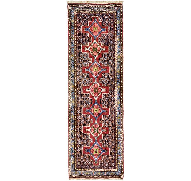 HandKnotted 3' 1 x 9' 8 Bidjar Persian Runner Rug