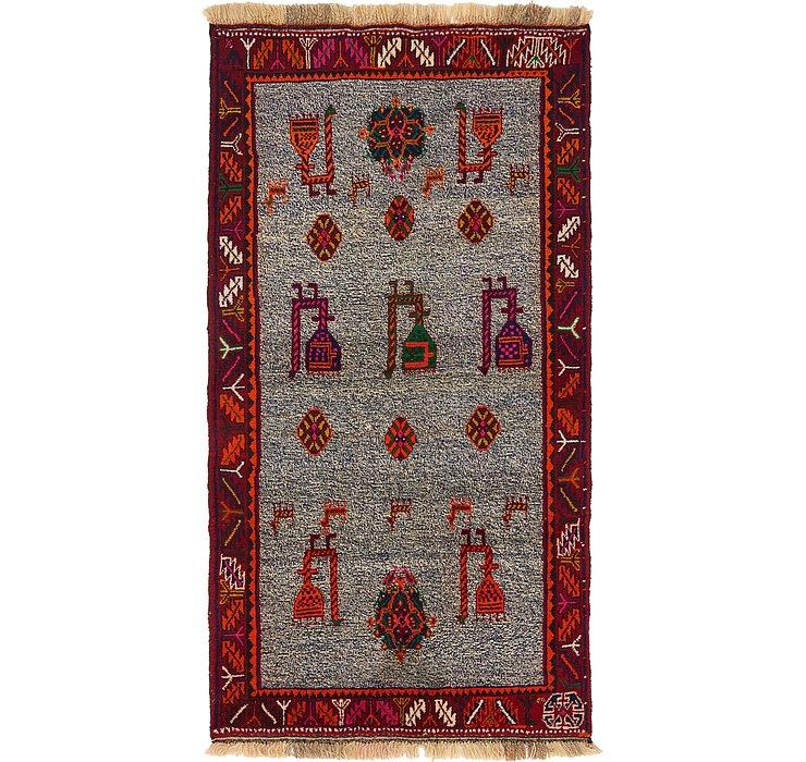 100cm x 183cm Ghashghaei Persian Rug