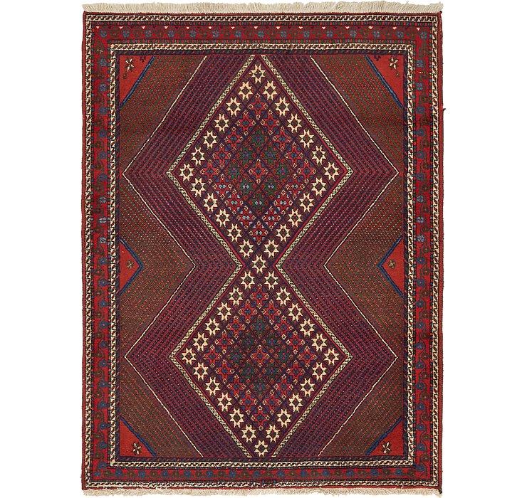 4' x 5' 2 Shahrbaft Persian Rug
