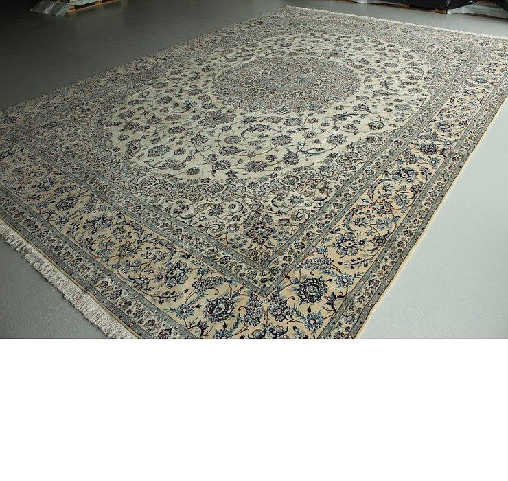 12' 9 x 15' 11 Nain Persian Rug