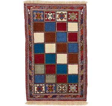 99x160 Ghashghaei Rug