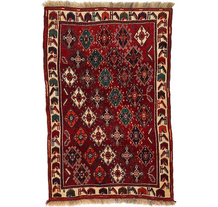 110cm x 165cm Ghashghaei Persian Rug