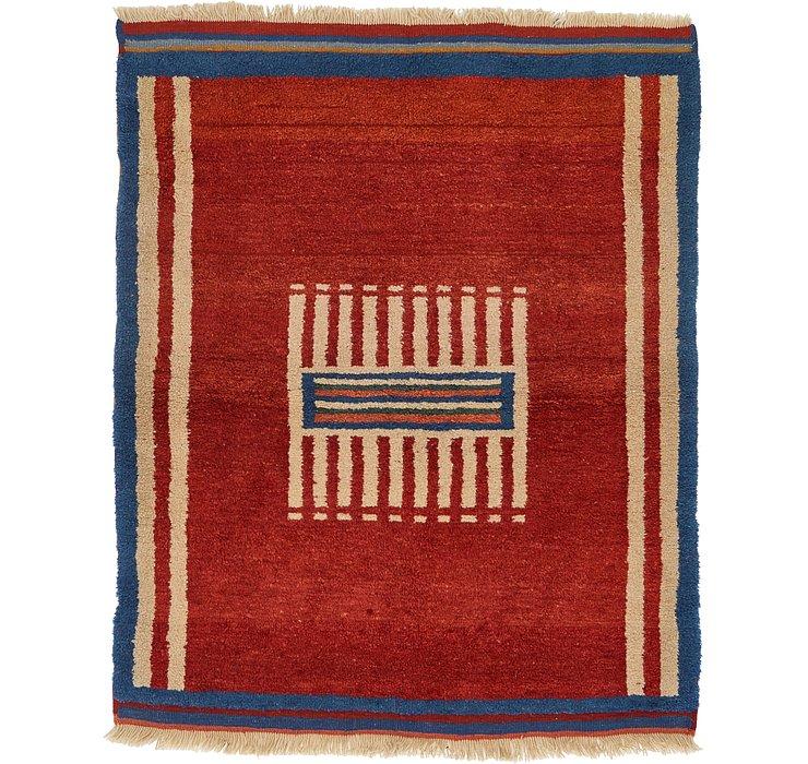 110cm x 122cm Ghashghaei Persian Rug