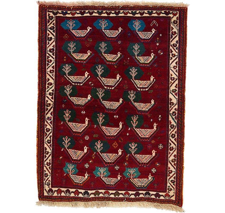 3' 6 x 4' 8 Ghashghaei Persian Rug