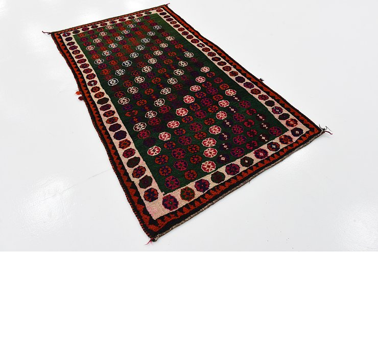 102cm x 175cm Ghashghaei Persian Rug